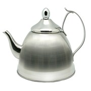 Creative Home Nobili 1 Qt. Infuser and Tea Kettle; Stainless Steel