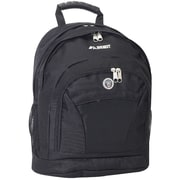 Everest Deluxe Double Compartment Backpack; Black