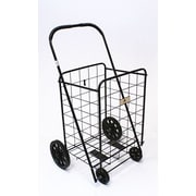 Trimmer Large Shopping / Grocery Cart; Black