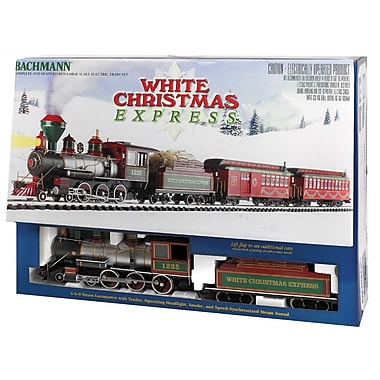 Bachmann Trains Large ''G'' Scale White Christmas Train SetSorry, this item is currently out of stock.