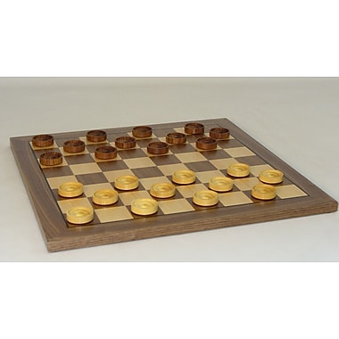 Checkmate 14'' Wood Checker Set