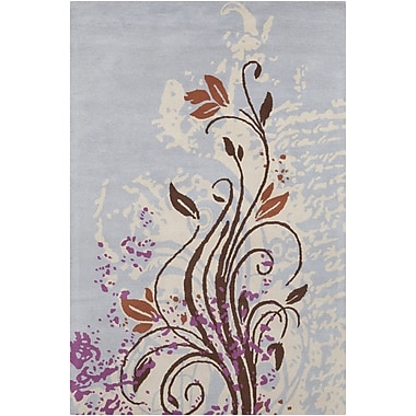 Chandra INT Floral Area Rug; 5' x 7'6''