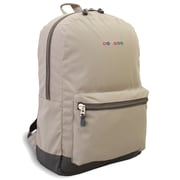 J World Lux Laptop Backpack; Tan