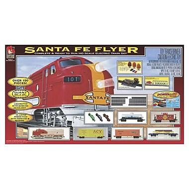 Life-Like Santa Fe Flyer Train Set