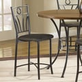 Bernards Dakota Bar Stool with Cushion (Set of 2)