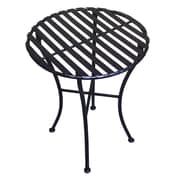 Pangaea Round Bistro Table; Black