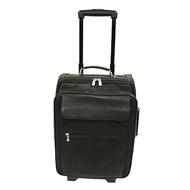 Piel Traveler 17'' Computer Bag Mini-Roller; Black
