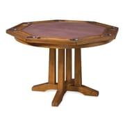 Home Styles Arts and Crafts 5 Piece Poker Table Set