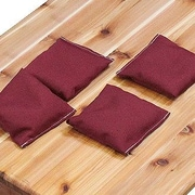 Gronomics Bean Bag (Set of 4); Burgundy