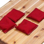 Gronomics Bean Bag (Set of 4); Red