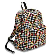J World Oz Campus Backpack; Checkers