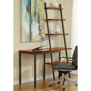 Jesper Office Jesper Office Parson Laptop Desk with Narrow Ladder Bookcase; Cherry