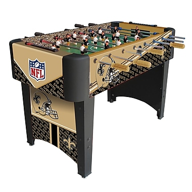 Imperial NFL Team Foosball Table; New Orleans Saints