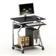 Merax Compact Design Laptop Computer Desk; Chocolate