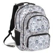 J World Astro Multi Pocket Laptop Backpack; White