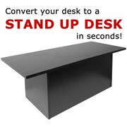Speedy Stand Up Desk Portable Desk; Black