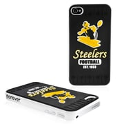 Forever Collectibles NFL Hard iPhone Case; Pittsburgh Steelers - Black