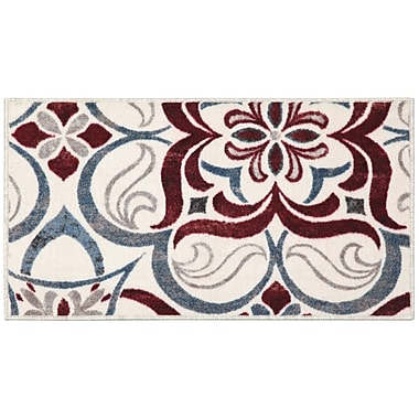 Brumlow Mills Tuscan Tile Area Rug; 1'8'' x 2'10''