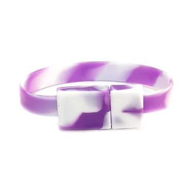 OnHand Flash Drive Wristband; Grape Drink
