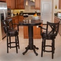 Home Loft Concept Eclipse 3 Piece Pub Table Set