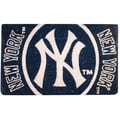 Team Sports America MLB Welcome Bleached Mat; New York Yankees