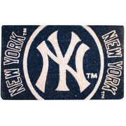 Team Sports America MLB Welcome Bleached Doormat; New York Yankees