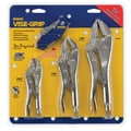 Petersen Visegrips Locking Plier 3Pc Set W/Knife