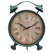 Cheungs Table Clock with Kickstand; Green