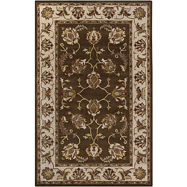 Chandra Perrussia Brown Area Rug; 5' x 8'
