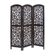 Woodland Imports 72'' x 56'' Beautiful 3 Panel Room Divider