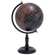 Woodland Imports Long Lasting Metal Wooden Globe