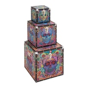 Woodland Imports Canvas Box (Set of 3)