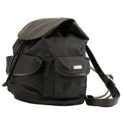 Hadaki Nylon Market Backpack; Black