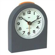 Bai Design Pick-Me-Up Alarm Clock; Mega Gunmetal