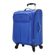 Skyway Mirage Superlight 20'' Expandable Carry-On Suitcase; Maritime Blue