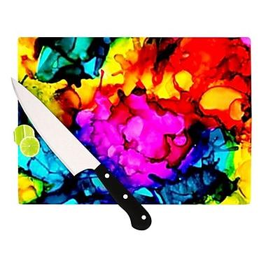 KESS InHouse Sweet Sour Cutting Board; 11.5'' H x 8.25'' W x 0.25'' D