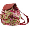 Hadaki Nylon Market Backpack; Jazz Ruby