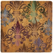 Thirstystone Fleur de Lis French Manor Ambiance Coaster Set (Set of 4)