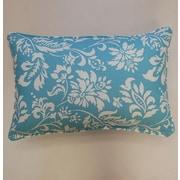 Dakotah Pillow Wexford Corded Lumbar Pillow (Set of 2); Lagoon