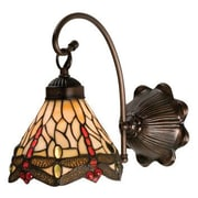Meyda Tiffany Tiffany Hanginghead Dragonfly 1 Light Wall Sconce