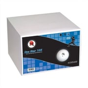 Martin Kilpatrick MK 1 - Star Ping Pong Ball, Bulk Pack of 144 in White