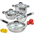 Cook N Home 4-Piece Cookare Set