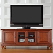 Crosley Cambridge 60'' TV Stand; Classic Cherry