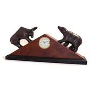 Bey-Berk Stock Market Clock