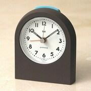 Bai Design Pick-Me-Up Alarm Clock; Landmark Brown