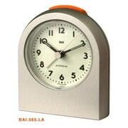 Bai Design Pick-Me-Up Alarm Clock; Landmark Titanium Niteglow