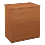 Bestar 2-Drawer Standard  File; Cappuccino Cherry