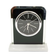 Bey-Berk Glass Alarm Clock