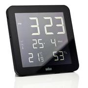Braun Digital Wall Clock; Black