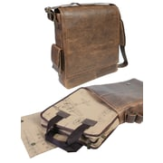 Scully Full Flap Closure Messenger Bag